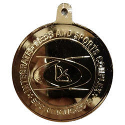 Sports Competition Gold Plated Medal