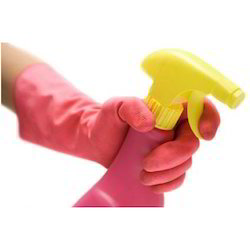 Rubber Unisex Cleaning Gloves