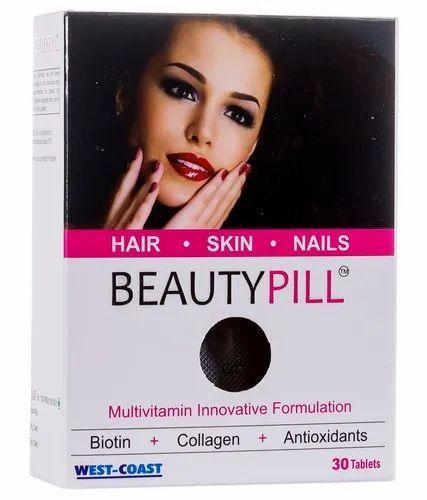 Beautypill Beauty Supplement For Hair Skin Nails