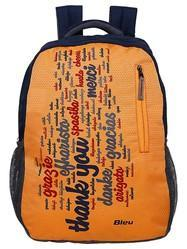 Orange Backpack Bag