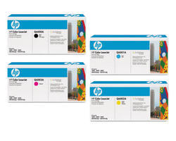HP Color Laserjet Toner Cartridges