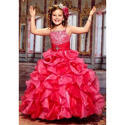 Pink Stylish Flower Girl Dress