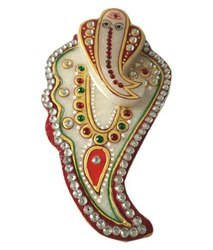 Hand Painted Marble Tilak Chopda