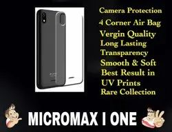 Silicon Micromax I One Transparent Mobile Back Cover