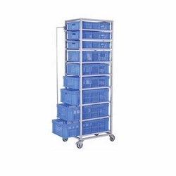 Veg-Storage Rack Trolley