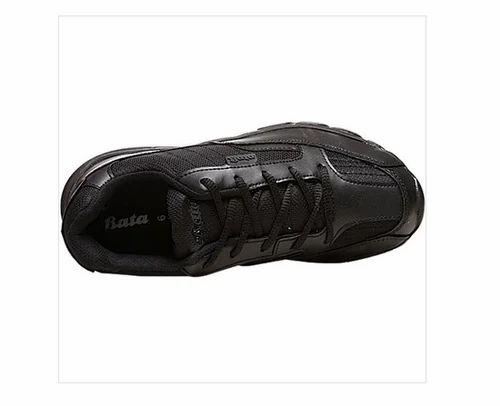 Black Bata Men Black School Shoes