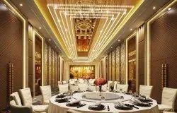 45 Days Offline Banquet Hall Interior Design & Turnkey Solutions, 25-30days