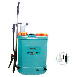 Battery Sprayers- Turbo 2 In 1