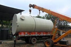PP White Chemical Storage Tank