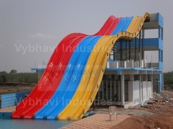 Matte Multilane Water Slide