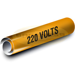 220 Volts Duromark Pipe Markers