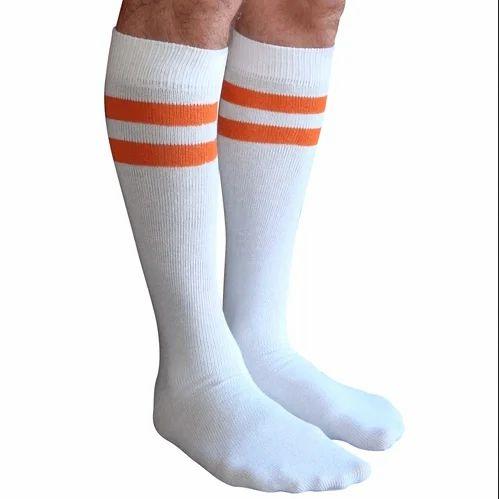 00b0edabc White Men Tube Socks, BK International Private Limited | ID: 19888790273