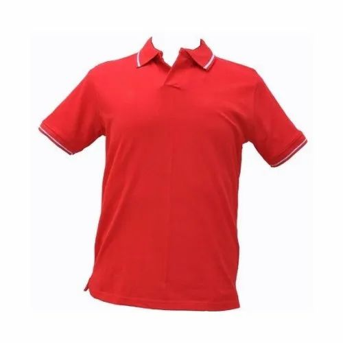 89356e7d None Lactose Fabric Polo T Shirts, Rs 200 /piece, Bismi Genuine ...