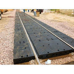 Rubberised Level Crossing