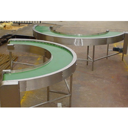 90 Degree Turn Belt Conveyor