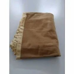 Soft Touch Plain Single Bed Woolen Blanket, Packaging Type: Plastic Bag, Size: 60 x 90 inch