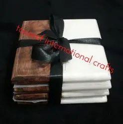 Wood Marble coasters