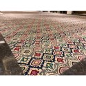 Printed Hand Tufted Carpet, Size: 5 X 8 Feet