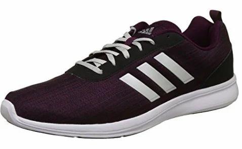 adidas uomini adiray m violet scarpe da corsa (freschi / mrp 3599)