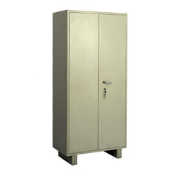 Metal Grey Storage Almirah for office, Size: 78x36x19