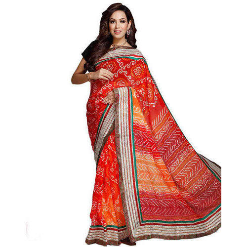 7f8175ae5cb2a Ladies Fancy Saree With Blouse Piece