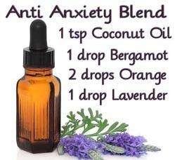 Anti Anxiety Aromatherapy Blend