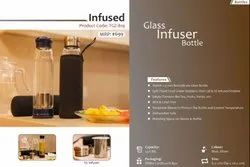 Imported Screw Cap Glass Bottle - Infuser, Capacity: 550 Ml, Model Name/Number: Infuse