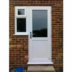 UPVC Casement Door With Panel