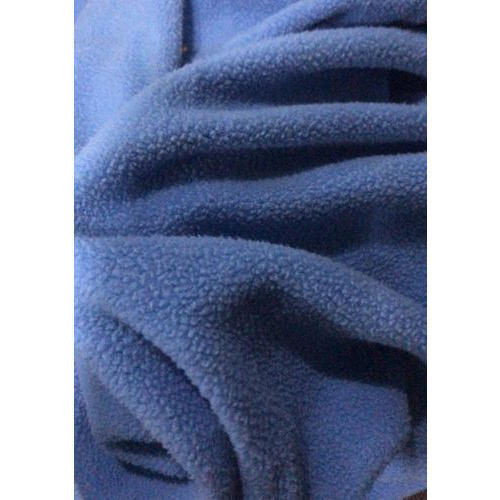Blue Anti Pilling Fabric