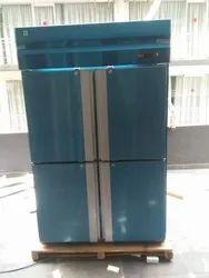 Silver 4 Door Upright Vertical Deep Freezer, Capacity: 400 L