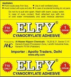 Elfi Adhesive Elfy Mistri Elfy Metallic Sumo Bond Adhesive