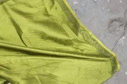 Green Taffeta Silk Fabric, For Garment, 100-300 Gsm