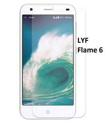 Reliance Jio LYF Flame 6 Tempered Glass Screen Guard