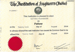 Fellow - Institute of Engineers