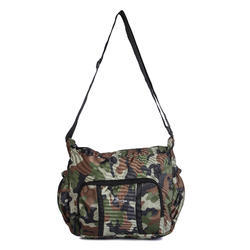 Unisex Military Surya Polyester 12 Liters Army Jungle Print Messenger Bag (SSB001JL)