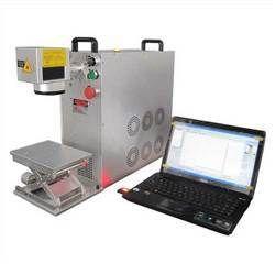 50w Fiber Laser Marking Machine (Portable Design )