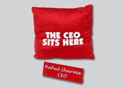 Pillow Name Plates Printing Services
