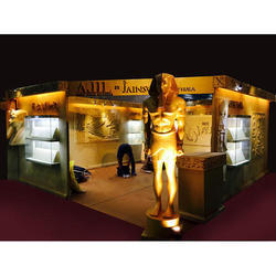FRP Exhibition Stall, For Promotional, Advertisement