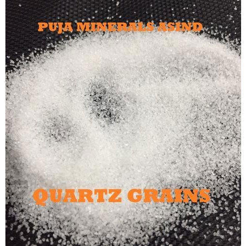 White Quartz Grains, 50 Kg