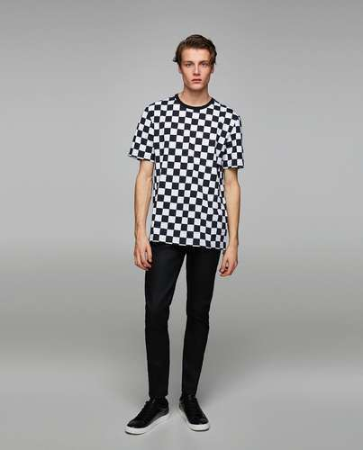 a88888c91 The And The Poshak Casual Wear Men Checked T-Shirt, Rs 186 /piece ...