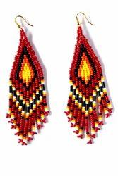 rajulbeadwork Handmade Beaded Earring