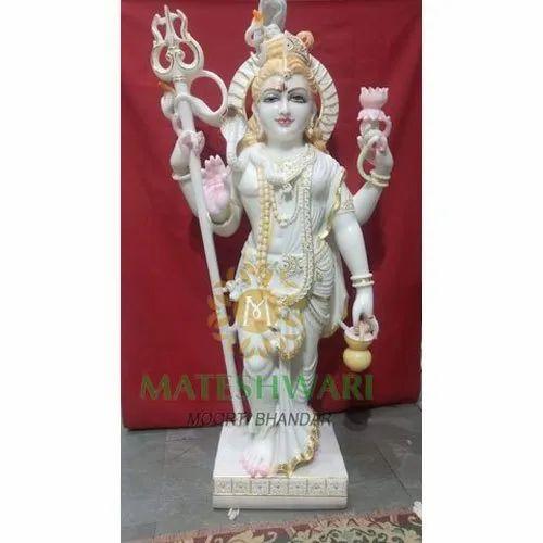Marble Ardhnareshwar Statue