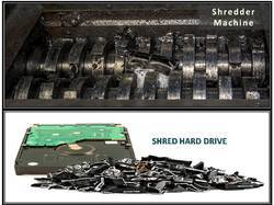 Hard Drive Shredder Machine