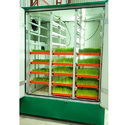 Fully Automatic Hydroponics Fodder Machine 200 Kg Capacity