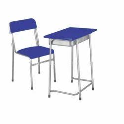 Economical Classroom School Institutional College Desk Bench
