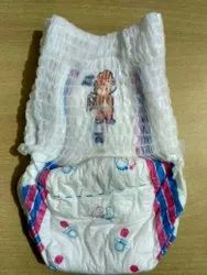 Cotton Disposable Aloe Baby Pull Up Small, Size: Medium, Age Group: 3-12 Months