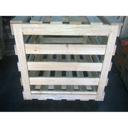 Square Frame Crates Wooden Storage Crate Box, Capacity: 300 Kg