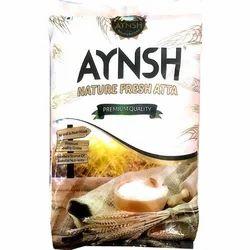 Aynsh Premium Quality Nature Fresh Atta, Pack Type: Packet
