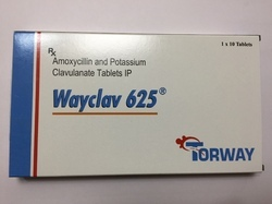 Amoxycillin And Potassium Clavulanate 625  ( 500   125)Tablet