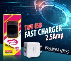 Electric 2.5Amp Myra Mobile Adaptor